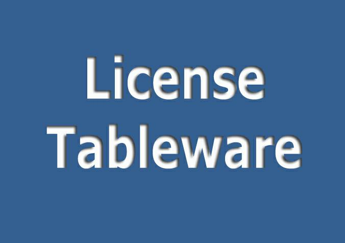 LICENSE TABLEWARE