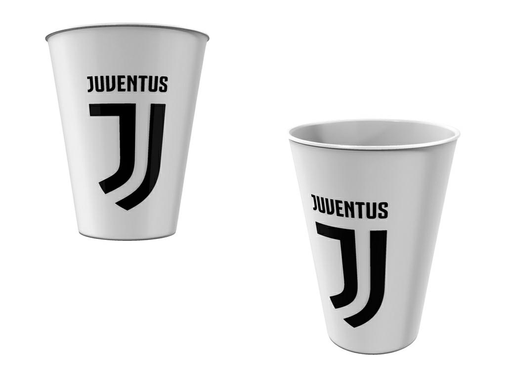 JUVE BICCHIERE PP ml.260
