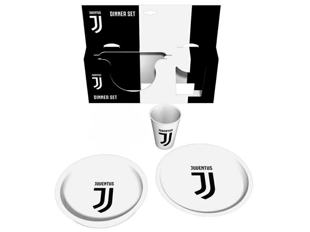 JUVE GIFT SET P.PIANO + P.FONDO + BICCHIERE