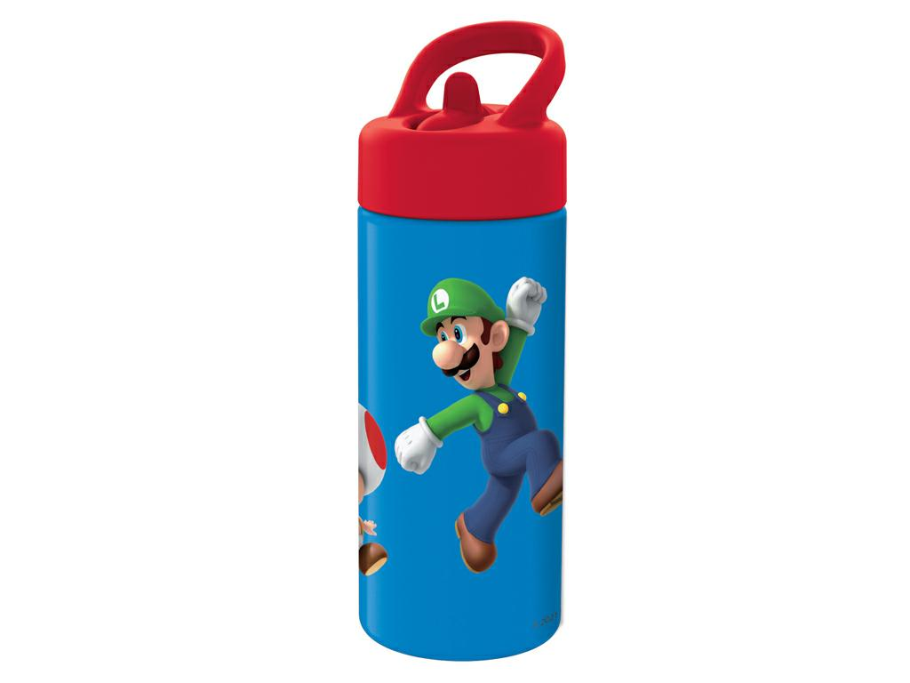 SUPER MARIO BORRACCIA C/CANNUCCIA PLAYGROUND 420ML.