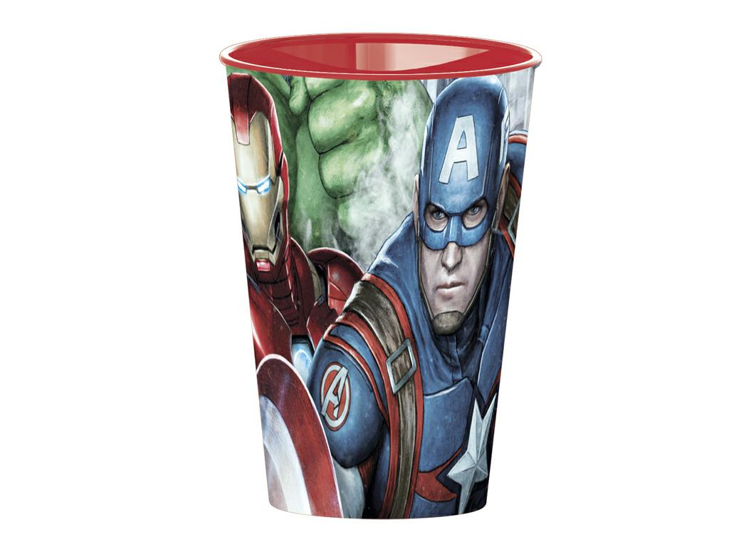 AVENGERS BICCHIERE PP ml.260