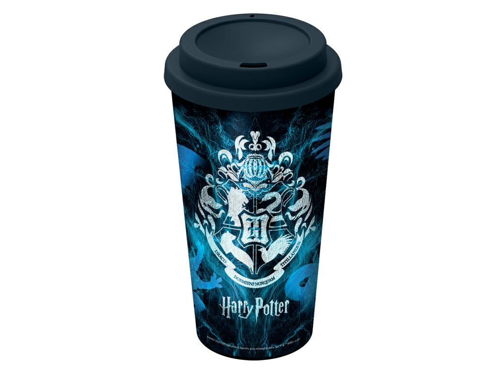 HARRY POTTER BICCHIERE CAFFE'C/COPERCHIO PP ml.520